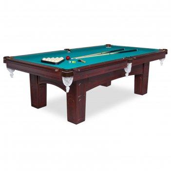 Бильярдный стол fortuna brookstone рп, 8фт, с комплектом аксессуаров