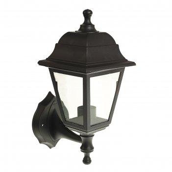 Светильник luazon 01-1, садово-парковый, четырехгранник, e27, настенный, в
