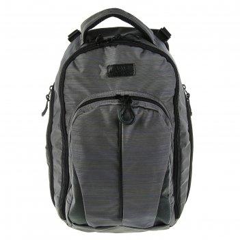 Рюкзак молодёжный luris спринт 3 42x29x16 см эргономичная спинка, серый