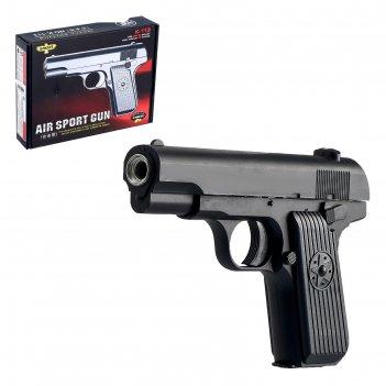 Пистолет к113, с металлическими элементами, глушитель не в комплекте