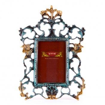 Фоторамка из бронзы барокко малая