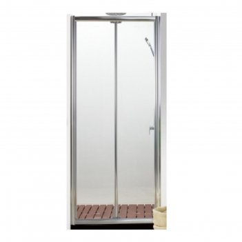 Душевое ограждение bravat drop bd100.4120a, 100x200 см, прозрачное, складн