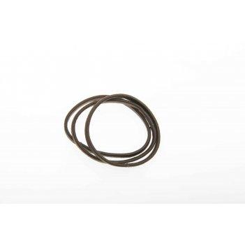 Резинки для волос dewal beauty коричневые плоские , midi (8 шт.)
