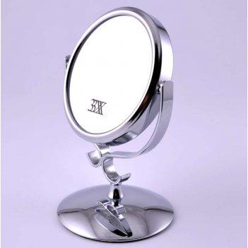Зеркало tsmt 1140 настольное металл. 2-х сторон. 3-х кр. уве