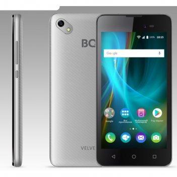 Смартфон bq s-5035 velvet silver 5,0tn,854*480, 8gb, 1gb ram, 8mp+5mp, and