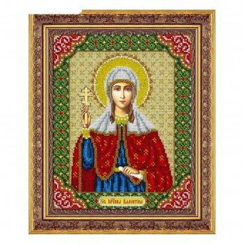 Набор для вышивки бисером «святая валентина»