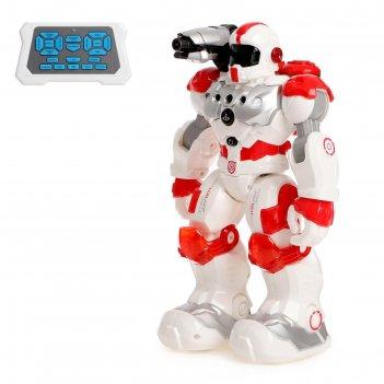 Робот радиоуправляемый, интерактивный «пожарный», световые и звуковые эффе