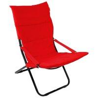 Кресло-шезлонг (hhk4/r винный (1 шт. в уп.))