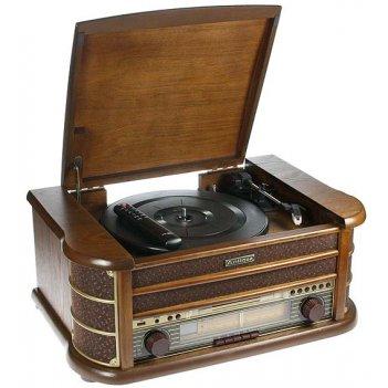 Музыкальный центр-ретро. функции: винил, am/fm, cd, аудио, u