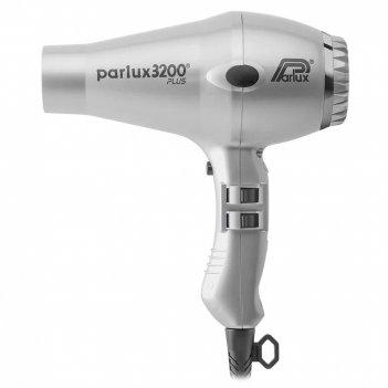 Фен parlux 3200 compact серебряный, 1900 вт, 2 насадки