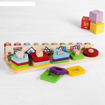 Логическая пирамидка  веселый поезд