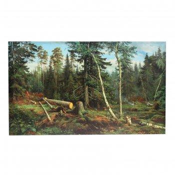 Картина на холсте «лесок», 60 x 100 см