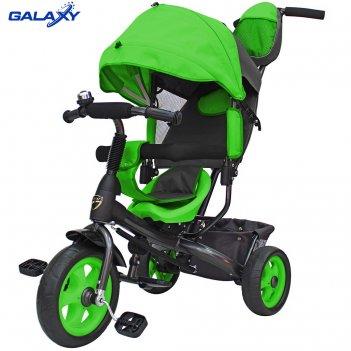 3-х колесный велосипед galaxy лучик vivat зеленый