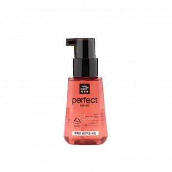 Сыворотка для волос mise en scene perfect serum rose perfume с маслом розы