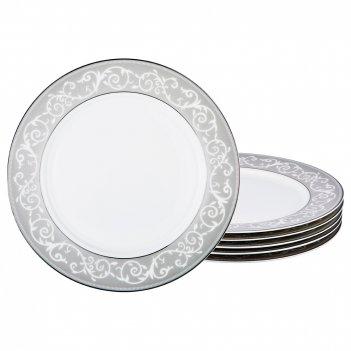 Набор тарелок на 6 персон 6 пр. констанция диаметр=25 см (кор=6наб.)