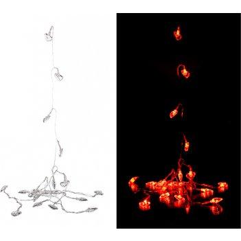 Электрогирлянда со светодиодами 3 м 20 led  красн ...