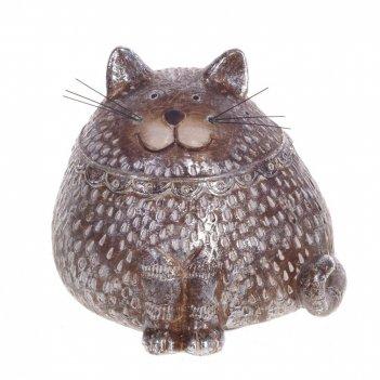 Фигурка декоративная кот, l10,5 w8,5 h9 см