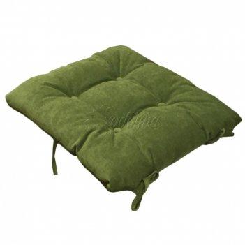 Подушка на скамейку 1п зеленый (п)