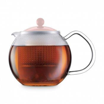 Чайник заварочный с прессом, объем: 500 мл, материал: боросиликатное стекл