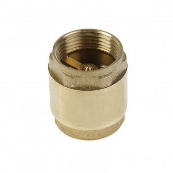 Клапан обратный никифоров, 1, внутренняя/внутренняя резьба, латунный серде