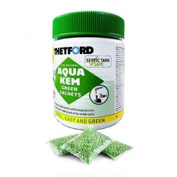 Порошок для биотуалетов thetford aqua kem green sachets 15шт/уп