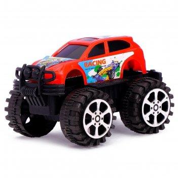 Машина инерционная джип, цвета микс