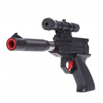 Пистолет комбо, стреляет 2 видами пуль