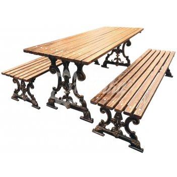 Комплект садовой мебели «ампир» 1,5 м