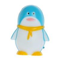 Ночник nl 1led пингвин голубой 0,4вт 220в 9х6,5х6,5 см