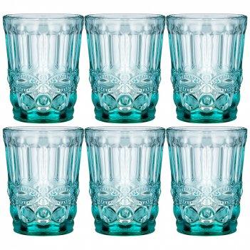 Набор стаканов серпентина из 6шт. серия muza color 270мл. / в=10 см