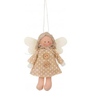 Фигурка ангелочек высота=10 cm. без упаковки (мал=24шт./кор=288шт.)