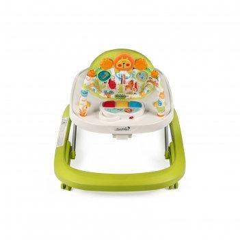 Ходунки детские с электронной игровой панелью amarobaby walking baby, цвет