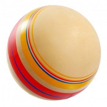 Мяч диаметр 200 мм, эко, ручное окрашивание