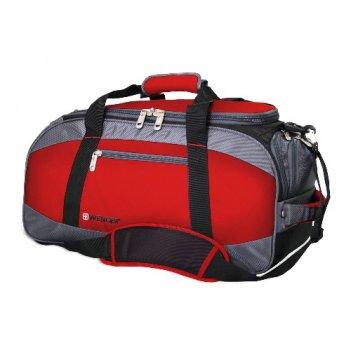 52744165 сумка wenger «mini soft duffle», цвет красный