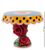 Cms-01/ 2 тортовница средняя цветы (pavone)
