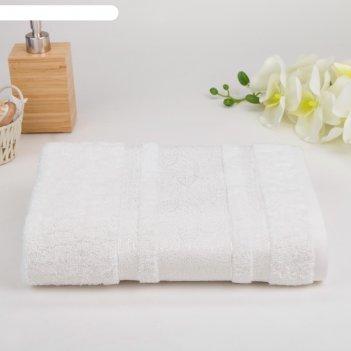 Полотенце махровое luxor пейсли 02-005 30х60 см, пастила, хлопок 100%, 450