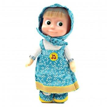 Мягкая музыкальная кукла «маша», 29 см