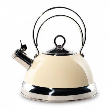 Чайник со свистком, объем: 2,5 л, диаметр: 21,5 см, высота: 24,5 см, матер