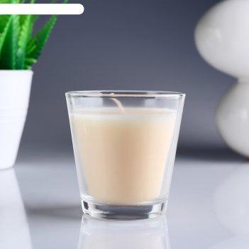 Свеча ароматизированная в стакане «ваниль»
