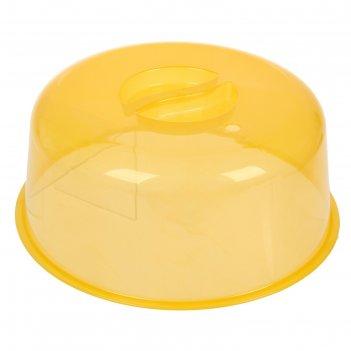 Крышка для свч 25 см комфорт, цвет микс
