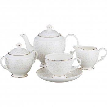 Чайный сервиз на 6 персон 15 пр.вивьен 850/400/2...