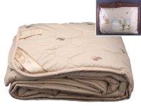 Одеяло 170*205 верблюжья шерсть, верх-тик х/б в ас...