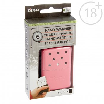 Каталитическая грелка zippo 40363 с покрытием pink