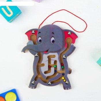 Лабиринт логический слоник
