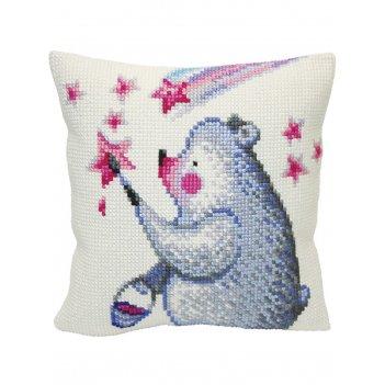 Подушка для вышивания collection dart рисую звезды