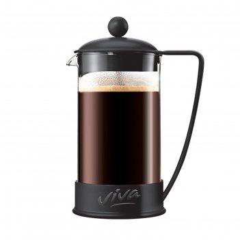 Френч пресс 600 мл ля кафе цвет черный