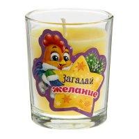 Свеча в стеклянном стаканчике загадай желание