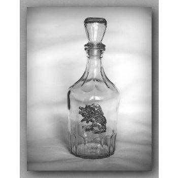 Графин для водки 130  на кабана   арт. гр130кб