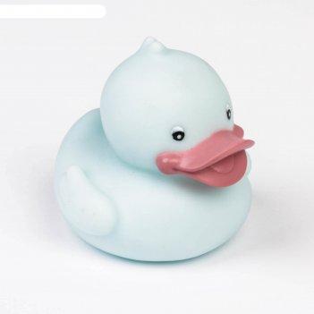 Игрушка для ванны «серая уточка»