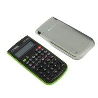 Калькулятор научный 8+2разр, 84*154*19мм, пит.от батарейки, зеленый srp145